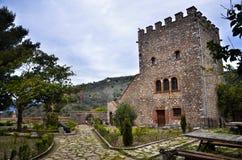 Butrint центры ` s Албании главные археологические стоковое фото