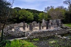 Butrint центры ` s Албании главные археологические стоковое изображение rf