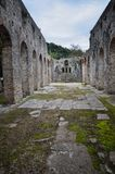 Butrint центры ` s Албании главные археологические стоковое фото rf