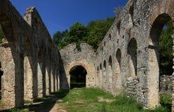 Butrint in Albanië stock afbeelding