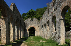 Butrint in Albanien stockbild