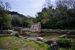 Butrint ? i centri archeologici principali del ` s dell'Albania fotografie stock libere da diritti