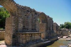 Butrint, sitio arqueológico. fotos de archivo libres de regalías