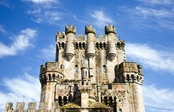 Butron Castle 1. Butron Castle view in Basque Country Royalty Free Stock Photo