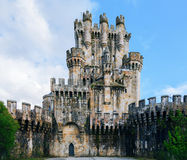 Butron castle, Spain Stock Photography