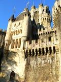 Butron slott, Gatika (det baskiska landet) Royaltyfri Bild