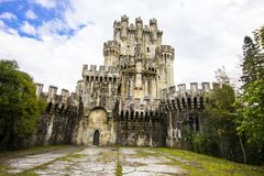 Butron slott, Spanien Royaltyfri Foto