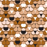 Butt in panties pattern. Abstract butt in panties seamless pattern Royalty Free Stock Image