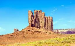 Butte верблюда гигантское образование песчаника в долине памятника стоковые изображения rf