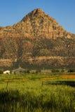 Butte Сиона Стоковое Фото