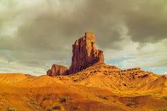 Butte слона, долина памятника, Юта стоковые фотографии rf