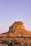 Butte 2 van de Canion van Chaco Royalty-vrije Stock Foto's