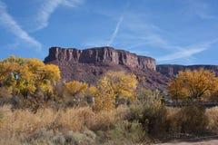Butte Blisko bramy, Colorade Zdjęcie Stock