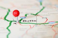 Butte city pin Stock Photos
