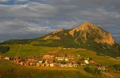 Butte com crista fotografia de stock royalty free