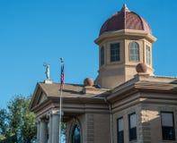 Butte County domstolsbyggnad i Belle Fourche South Dakota Royaltyfria Bilder
