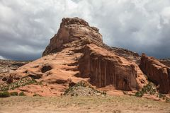 Butte de canyon Photos stock