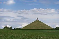 butte De Lew kopiec s Waterloo Zdjęcie Royalty Free
