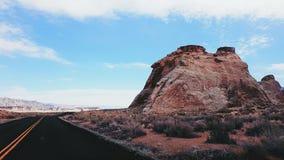 Butte de MESA en Utah Images libres de droits