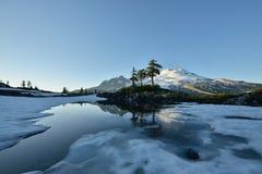 Butte de parc, Mt Baker National Recreation Area Images stock