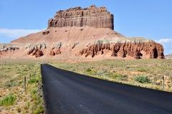 Butte del cavallo selvaggio - valle del Goblin Fotografie Stock