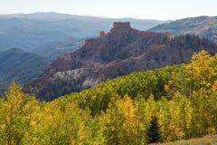 Butte della regione selvaggia Fotografie Stock