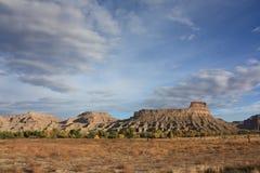 Butte di Gunnison fotografia stock libera da diritti