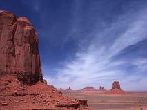 Butte en vallée de monument Photo stock