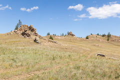 Butte Stock Photo