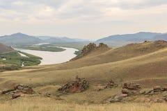 A butte Landscape Stock Photo