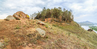 A butte . Landscape Stock Photo