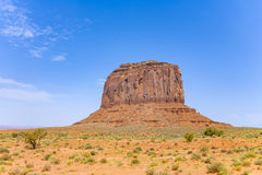 Butte Merrik в долине памятника Стоковое Фото