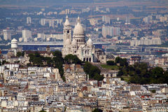 Butte montmartre Stock Photos
