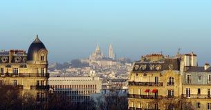 Butte Montmartre di Parigi Fotografia Stock Libera da Diritti