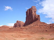 Butte in Monument Valley Stock Photography