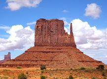 Butte in Monument Valley Royalty Free Stock Photography