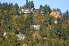 Butte van Awbrey Huizen Royalty-vrije Stock Afbeelding