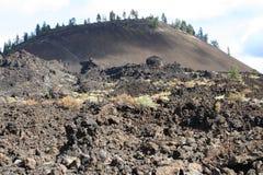 Butte van de lava Royalty-vrije Stock Afbeeldingen