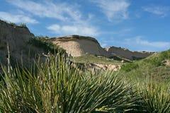 Butte van Pawnee Nationale Weiden Royalty-vrije Stock Afbeeldingen