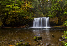 Butte Water Falls. Butte Falls is in Central Oregon not far from Scotts Mills, Or stock photos