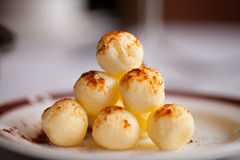 Butter Ball Pyramid Royalty Free Stock Images