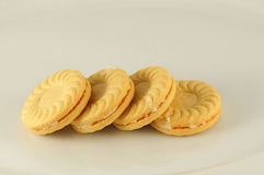 Butter biscuit on the table. S Royalty Free Stock Photos