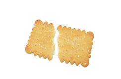 Butter biscuit. Royalty Free Stock Image