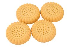 Butter biscuits Stock Image