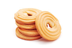 Butter biscuits Royalty Free Stock Photos