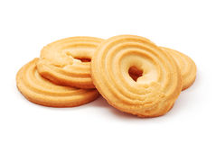 Butter biscuits Royalty Free Stock Photo