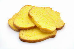 Butter bread toast Stock Photography