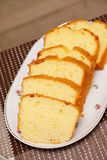 Butter cake Royalty Free Stock Images