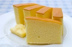 Butter cake Stock Images