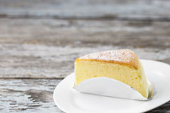 Butter cake sliced Stock Photography